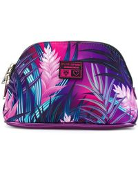Philipp Plein | Leaf Print Make Up Bag | Lyst