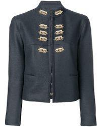 Nina Ricci - Leaf Embellished Fitted Jacket - Lyst