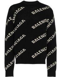 Balenciaga - Jersey con logo - Lyst