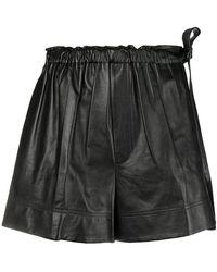 Helmut Lang - Paper Bag Waist Shorts - Lyst
