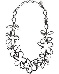 Oscar de la Renta - Botanical Scribble Necklace - Lyst