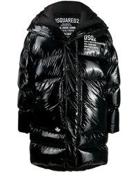 DSquared² パデッドコート - ブラック