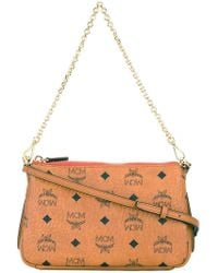 MCM | - Logo Print Clutch - Women - Artificial Leather - One Size | Lyst