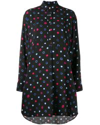 PS by Paul Smith - Circle Print Shirt Dress - Lyst