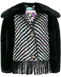 Emilio Pucci - Embroidered Fringed Jacket - Lyst
