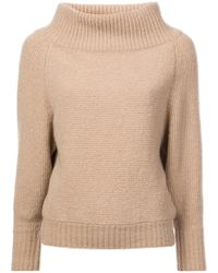 Sally Lapointe - High Neck Sweater - Lyst