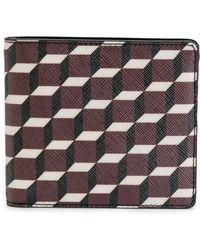 Pierre Hardy - Geometric Print Billfold Wallet - Lyst