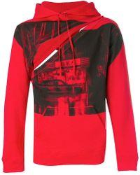 Raf Simons - Front Printed Sweatshirt - Lyst