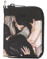 Dior Homme - Crowd Print Wallet - Lyst