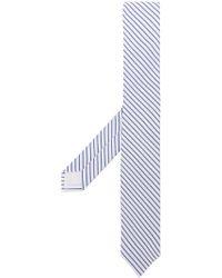 MSGM - Diagonal Striped Tie - Lyst