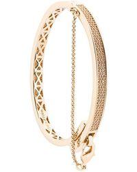 Eddie Borgo - Extra Thin Safety Chain Bracelet - Lyst