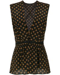 Andrea Marques - Overlay Printed Bodysuit - Lyst