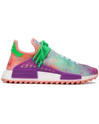 685001d009f53 Lyst - adidas Originals Pw Hu Holi Nmd Mc Sneakers in Red for Men