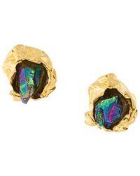 Niza Huang | Crush Stone Stud Earrings | Lyst