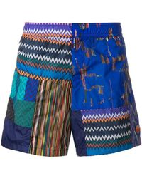 Missoni - Pattern Print Swim Shorts - Lyst