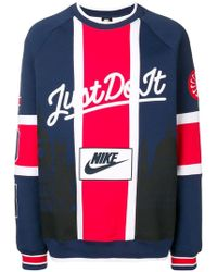 Nike - College 'just Do It' Jersey Sweater - Lyst