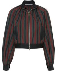 Rosetta Getty - Cropped Bomber Jacket - Lyst