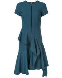 Josie Natori - Ruffle Detail Dress - Lyst