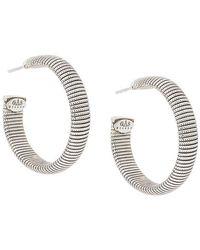 Gas Bijoux - Milo Hoop Earrings - Lyst