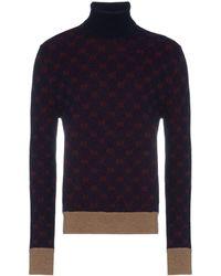 Gucci GG Logo Turtleneck Knit Jumper