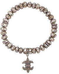 Loree Rodkin - Etched Charm Bracelet - Lyst