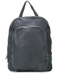 Guidi - Zipped Backpack - Lyst