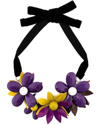 P.A.R.O.S.H. - Flower Plate Necklace - Lyst