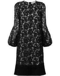 Les Copains - Floral Lace Dress - Lyst