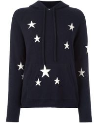 Chinti & Parker - Star Intarsia Hooded Sweater - Lyst