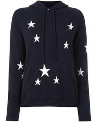 Chinti & Parker - Star Intarsia Hooded Sweater - Lyst
