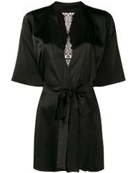 Fleur Of England - Slim-fit Belted Robe - Lyst
