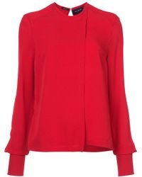 Yigal Azrouël | Georgette Blouse | Lyst
