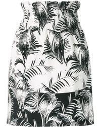 Sonia Rykiel - Palm Print Mini Skirt - Lyst