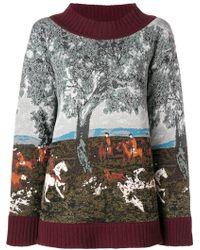Antonio Marras - Intarsia Sweater - Lyst