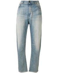 Twin Set - Twist Leg Jeans - Lyst