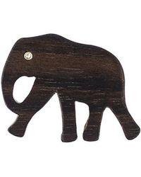 Marc Alary - 'elephant' Diamond Charm Pendant - Lyst