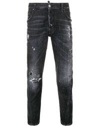 DSquared² - Tidy Biker Jeans - Lyst