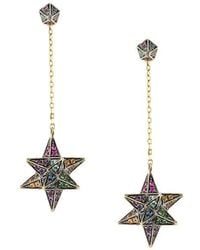 Noor Fares - Merkaba & Cone Dress Earrings - Lyst