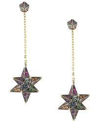 Noor Fares - Merkaba & Cone Dress Earrings - Lyst