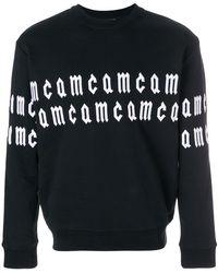 McQ - Scrolling Logo Sweatshirt - Lyst