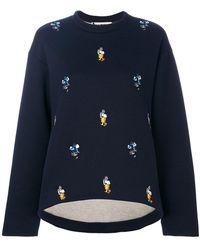 Marni   Embroidered Sweatshirt   Lyst