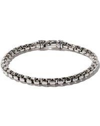 David Yurman - Box Chain Large Bracelet - Lyst