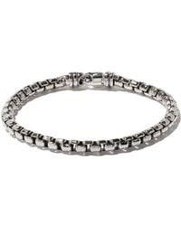 David Yurman - Bracciale 'Box Chain' - Lyst