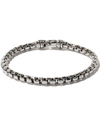 David Yurman - Box Chain Large Bracelet - Lyst