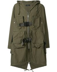 Undercover Hooded Raincoat