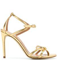 Twin Set - Open Toe Stiletto Sandals - Lyst