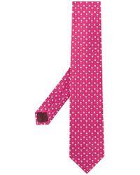Ferragamo - Spotted Tie - Lyst