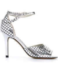 Golden Goose Deluxe Brand | Grid Pattern Sandals | Lyst