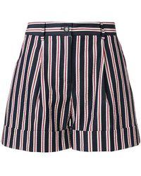 P.A.R.O.S.H. - Striped Shorts - Lyst