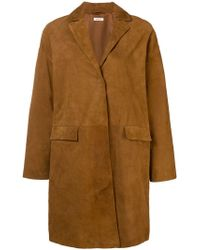 P.A.R.O.S.H. - Leather Coat - Lyst